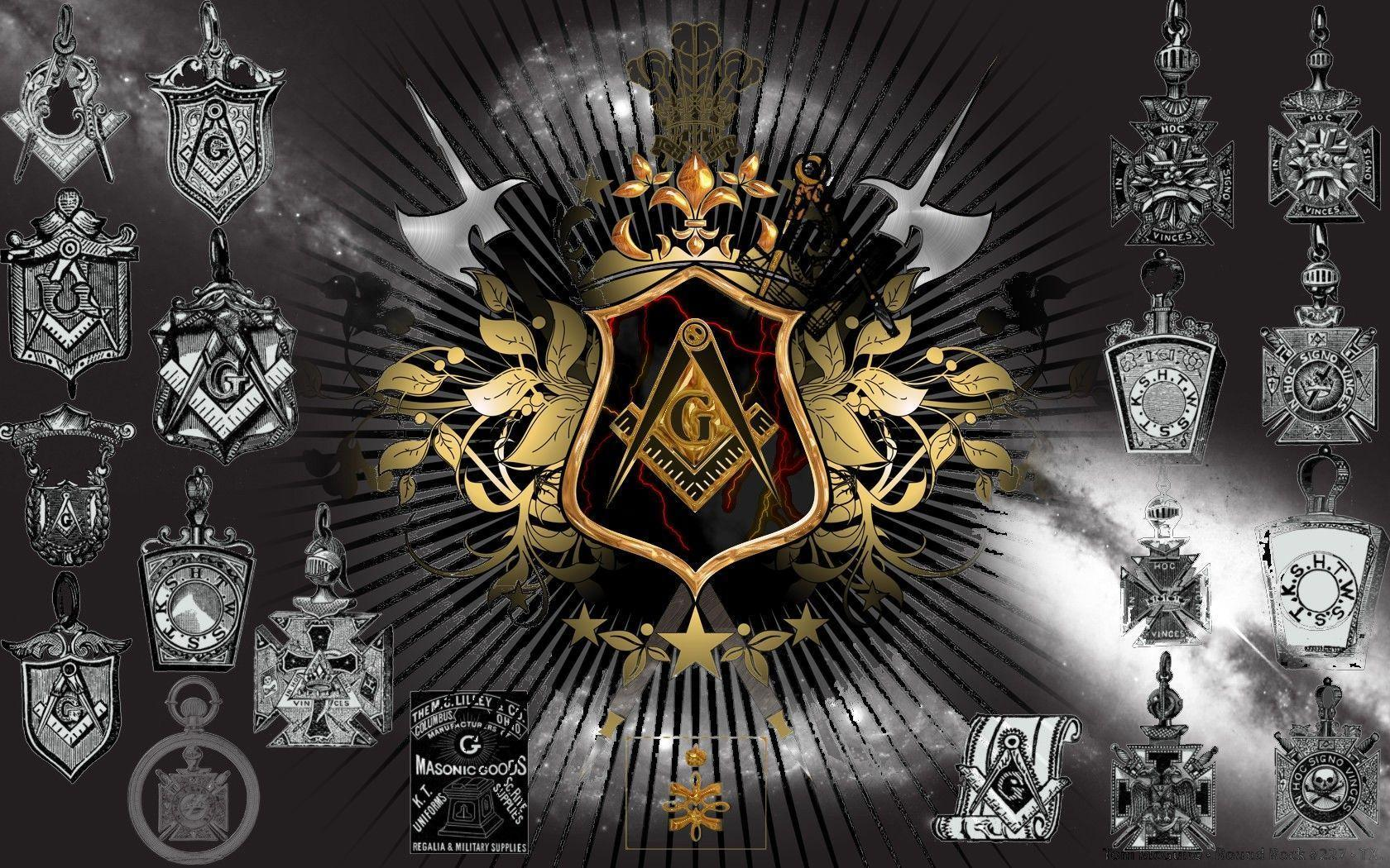 Freemasonry Wallpapers 1680x1050