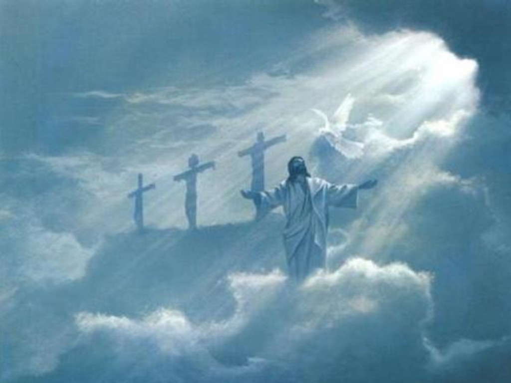 Jesus Resurrection Wallpapers 1024x768