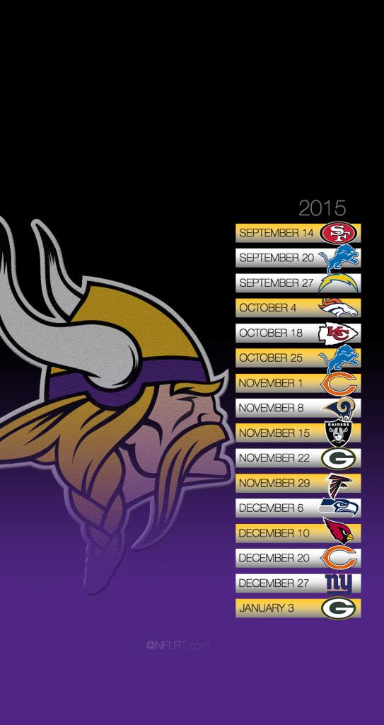 50 Minnesota Vikings 2015 Schedule Wallpaper On
