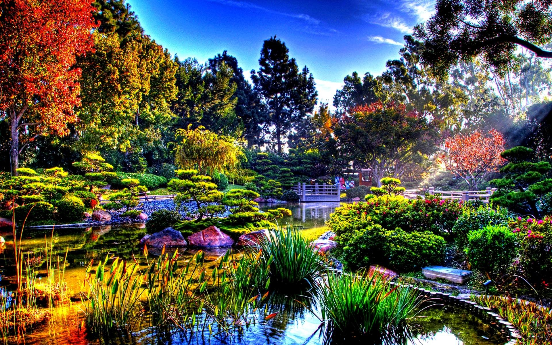 64 Beautiful Garden Wallpapers on WallpaperPlay 1920x1200