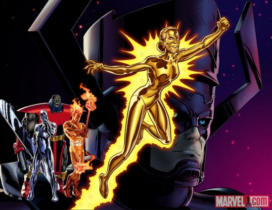 Aunt May Herald of Galactus character model in Marvel Avengers 550x425