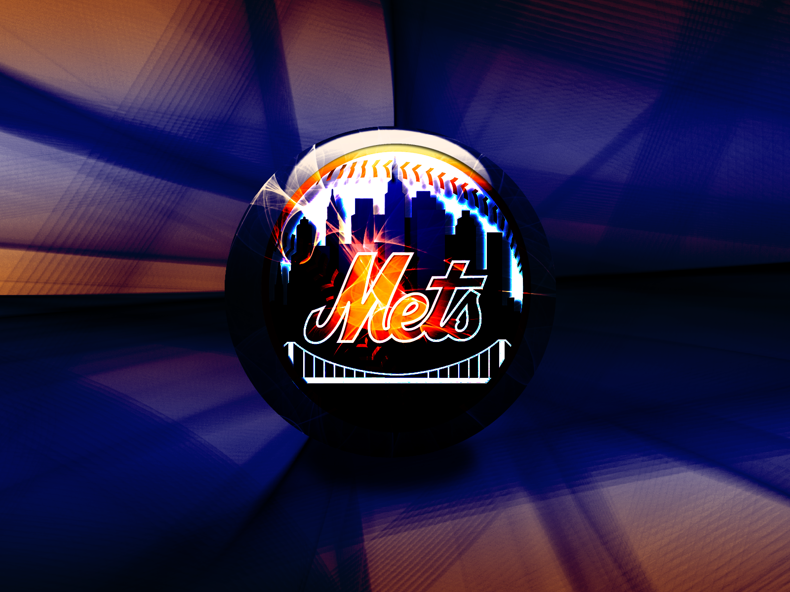 ny mets logo wallpaper wallpapersafari