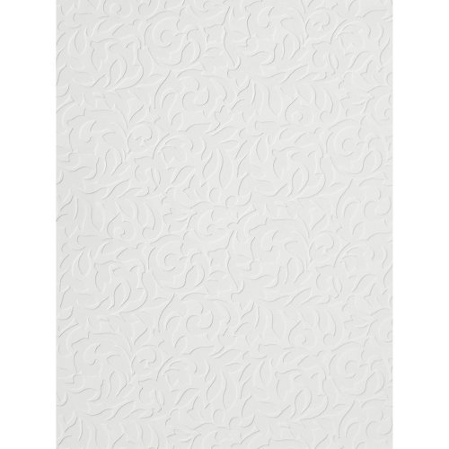 Imperial VP131610 Textured Scroll Paintable Wallpaper 500x500