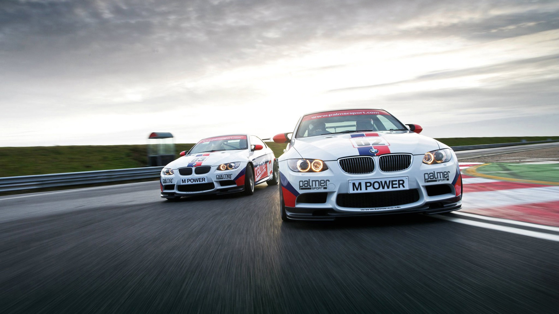 bmw racing car wallpaper