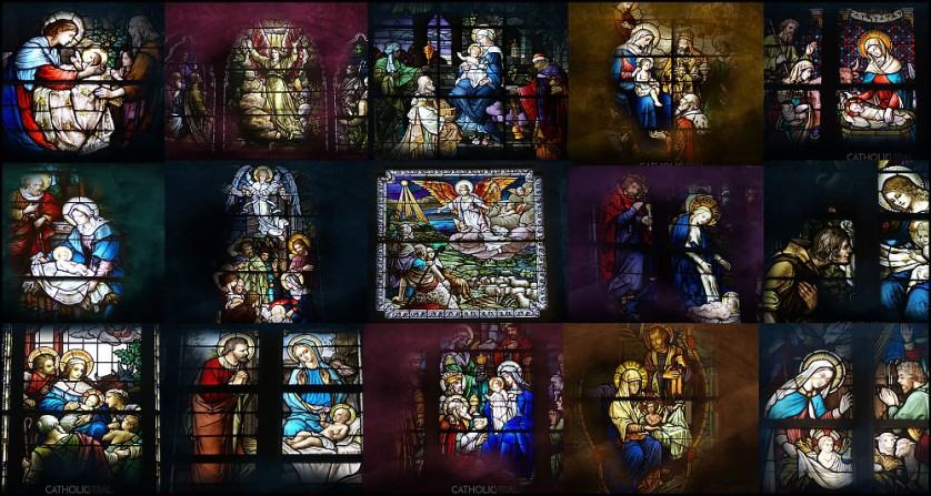 17 Stunning Stained Glass Windows   HD Christmas Wallpapers 838x447