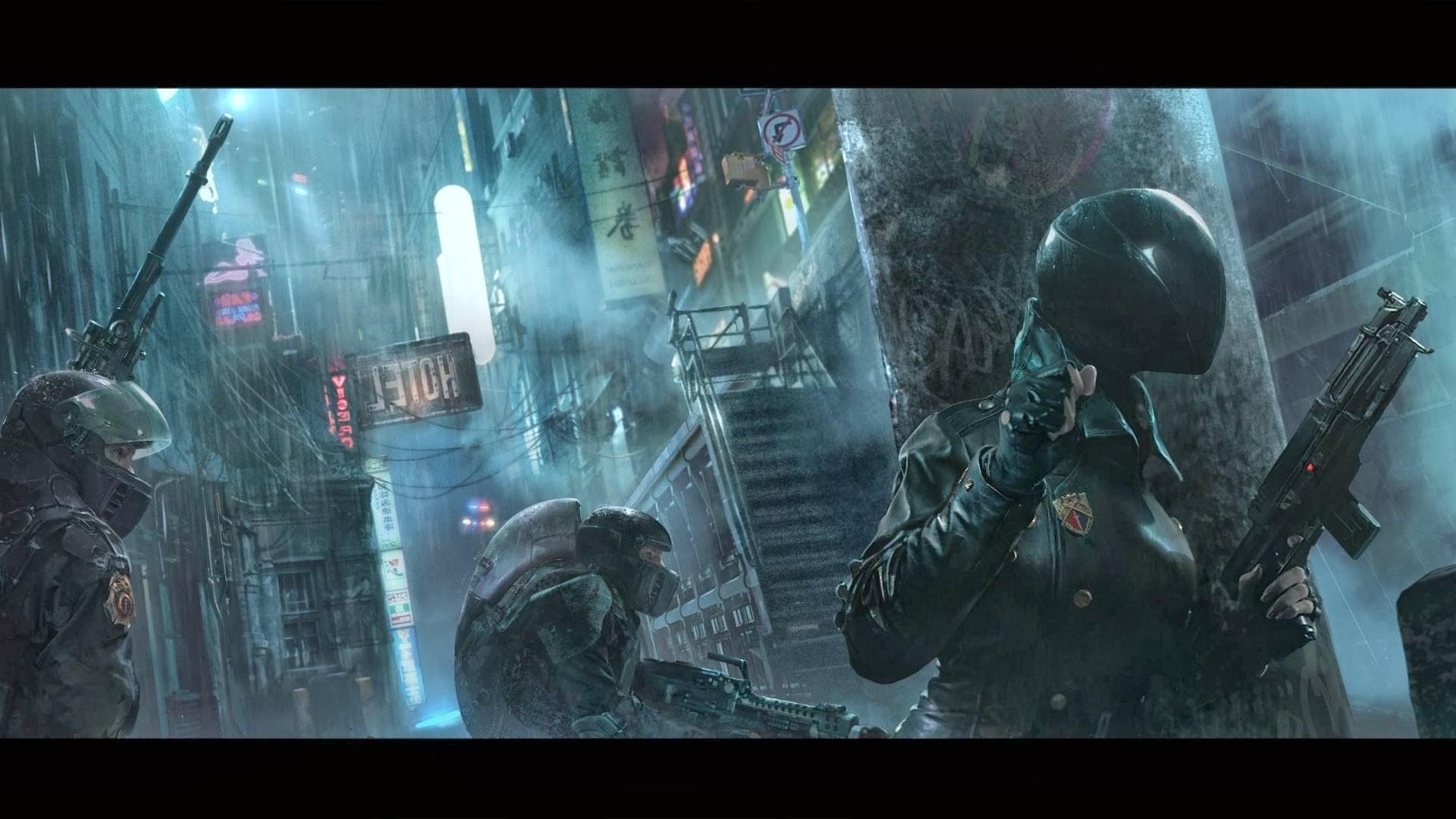 cyberpunk wallpaper HD 1920x1080