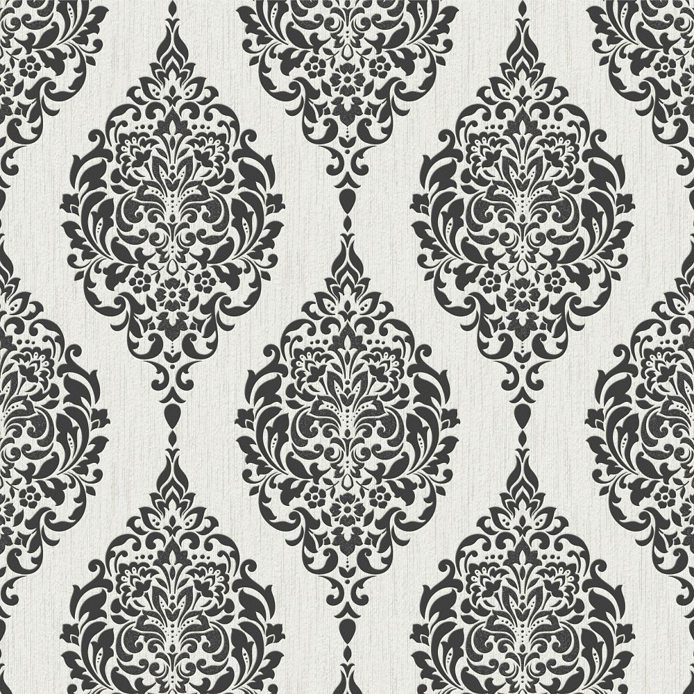 Superfresco Easy Luna BlackWhite Wallpaper The Home Depot Canada 1000x1000
