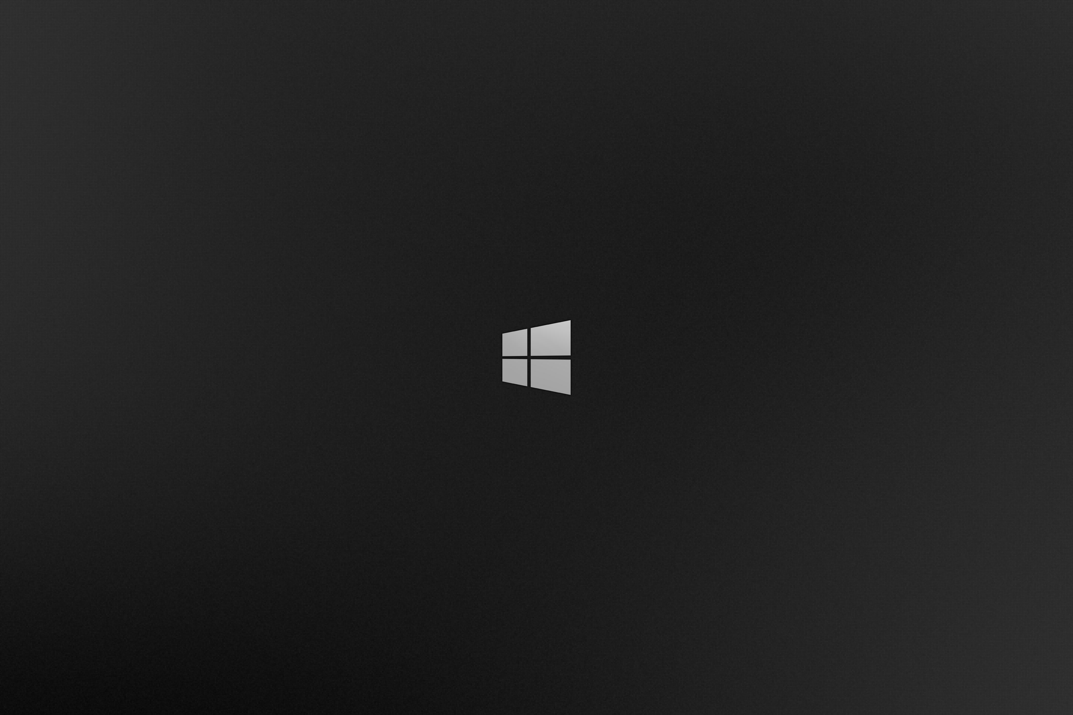Windows Black Wallpaper