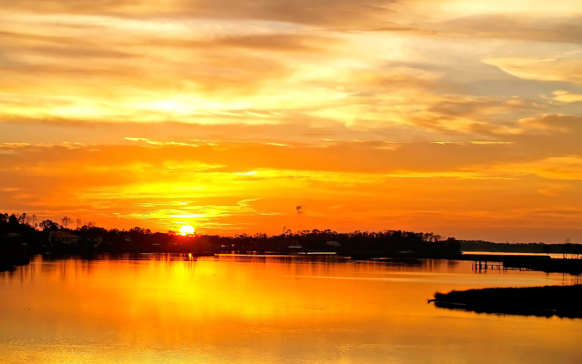 Sunset Background wallpaper   182174 1920x1200