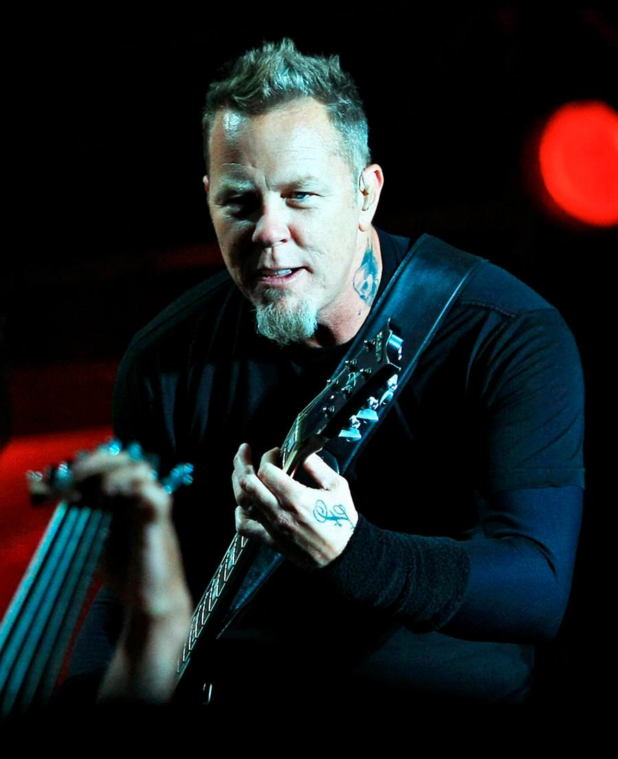 James Hetfield 2006 95040 | TSPACE
