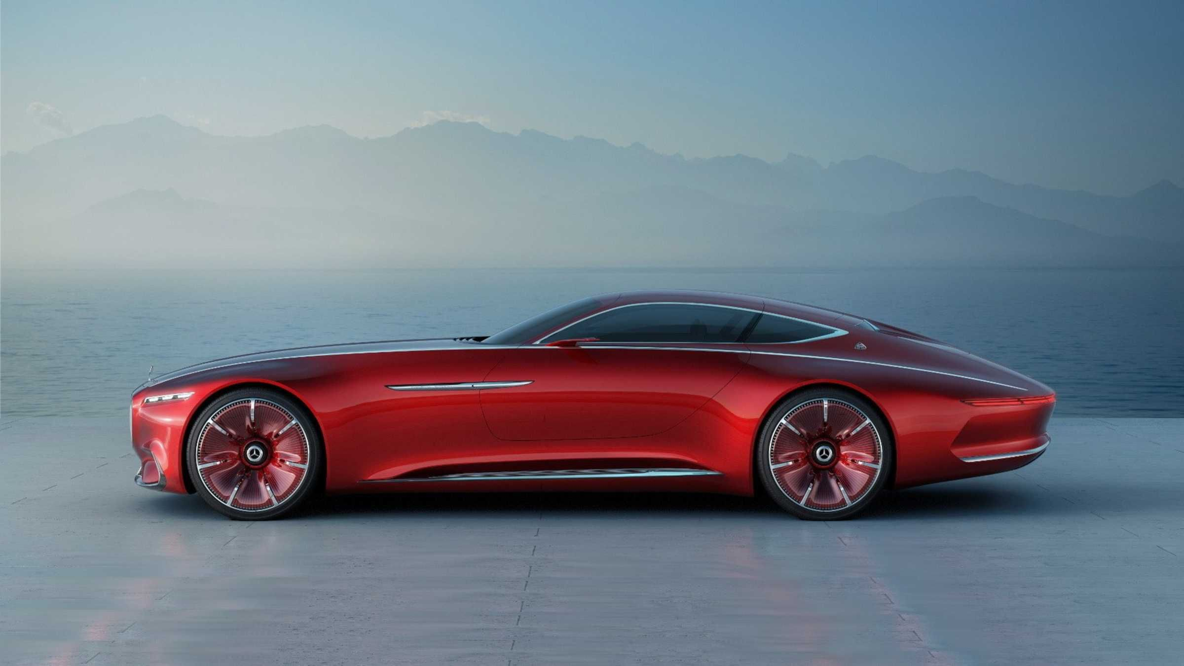 The Vision Mercedes Maybach 6 Concept Is Revealed Ahead of Pebble 2400x1350
