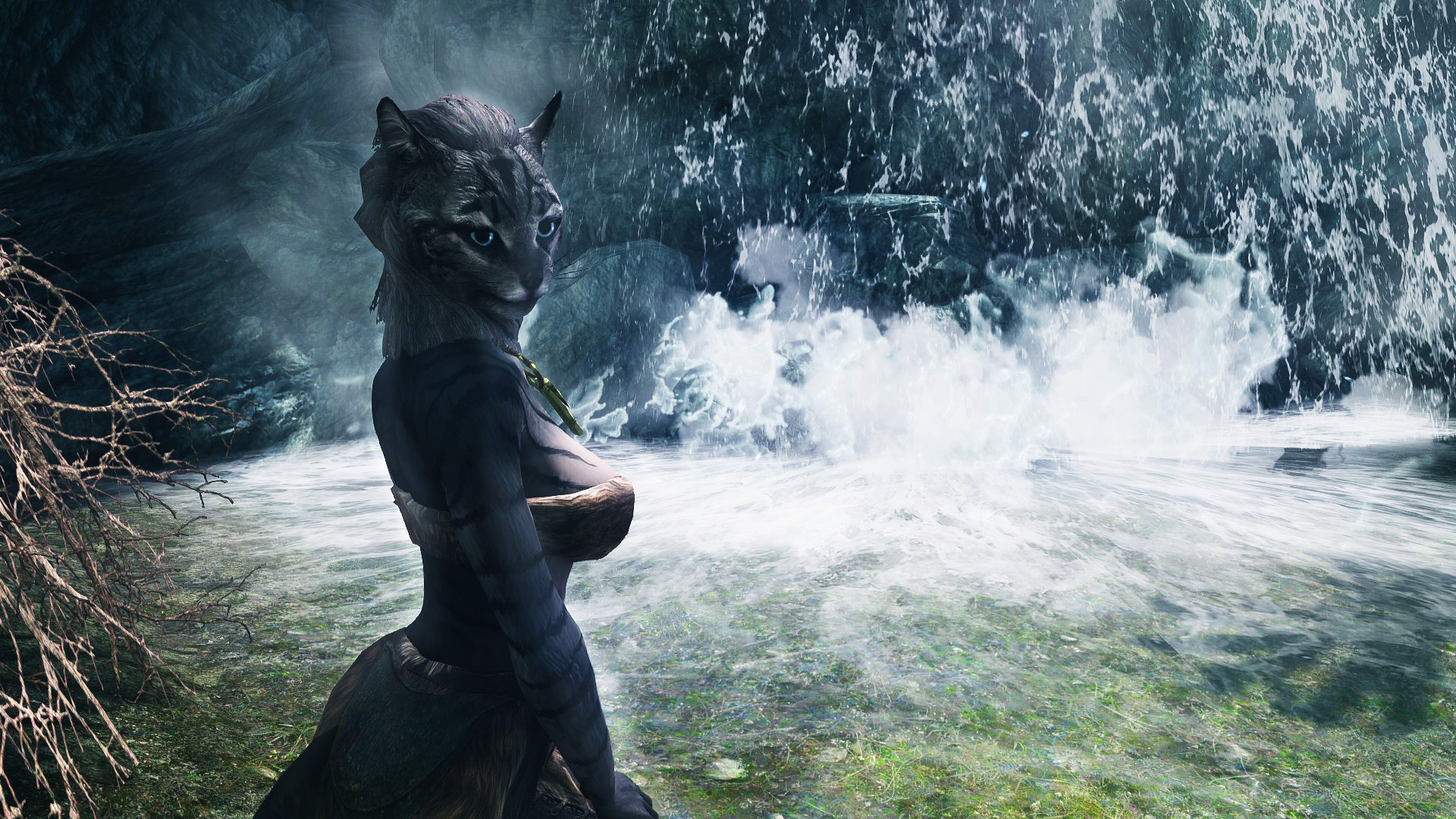 For those of you who lament that Skyrims Khajiit are not cute 1920x1080