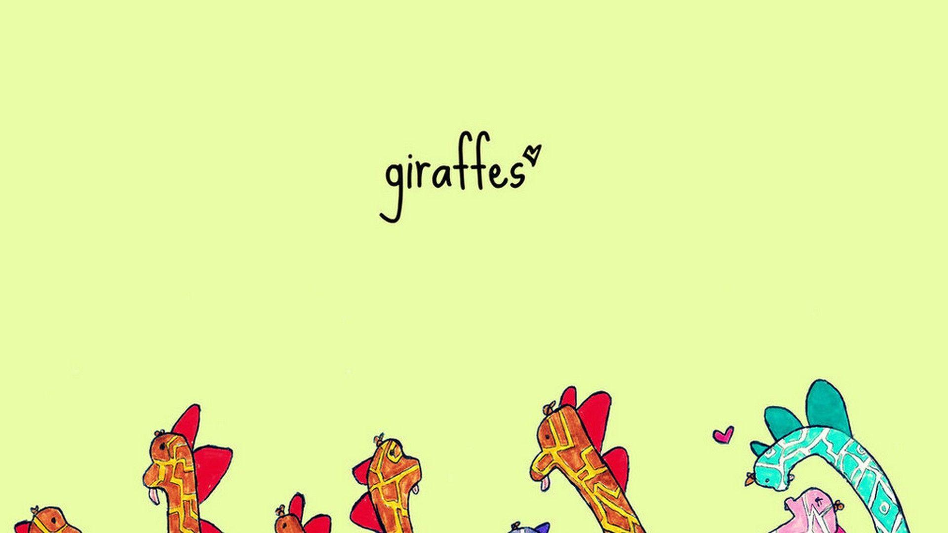 Giraffe Wallpaper Border Best HD Wallpapers Wallpaperscute 1920x1080