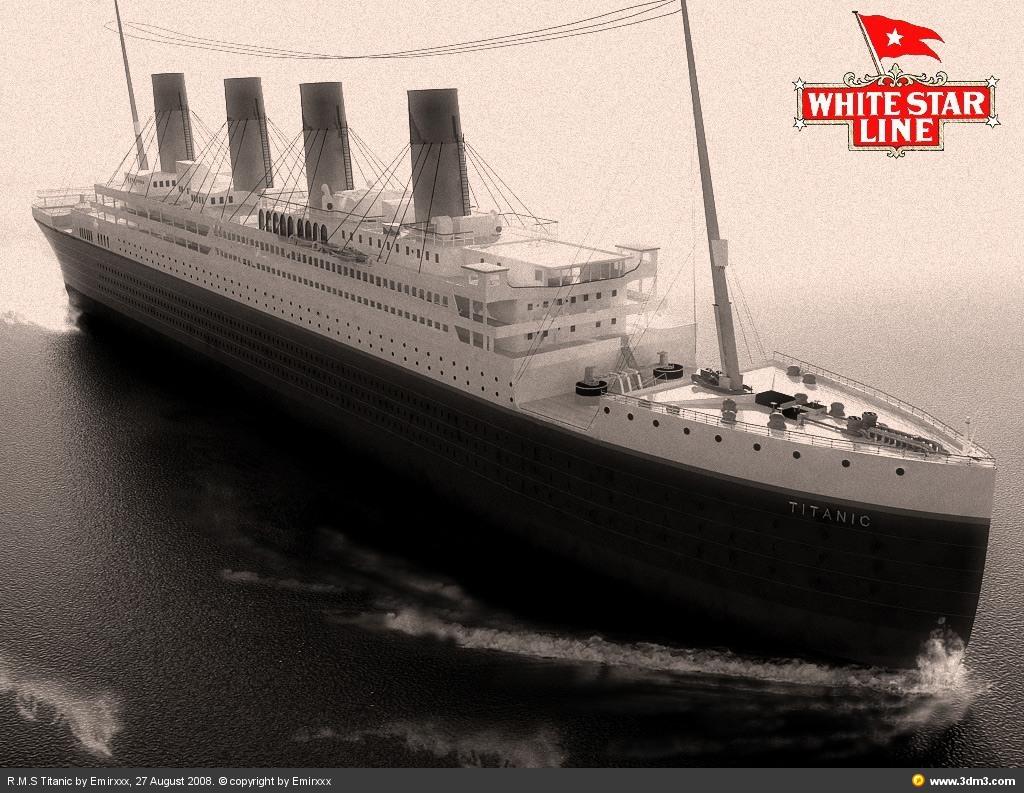 Minecraft карта ''Титаник''