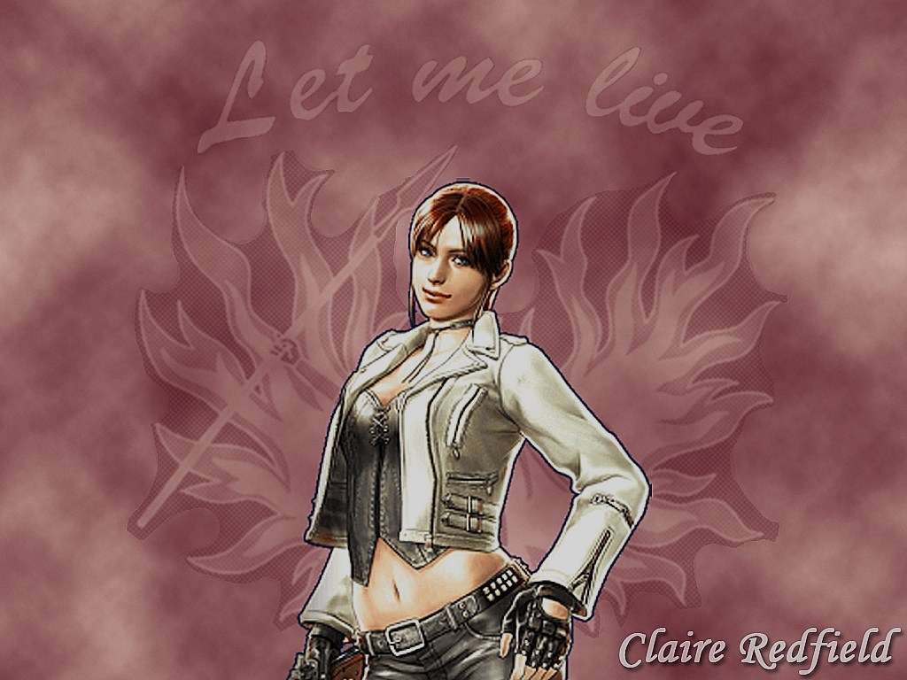 Claire Redfield Wallpaper by XxCherokeeRosexX 1024x768