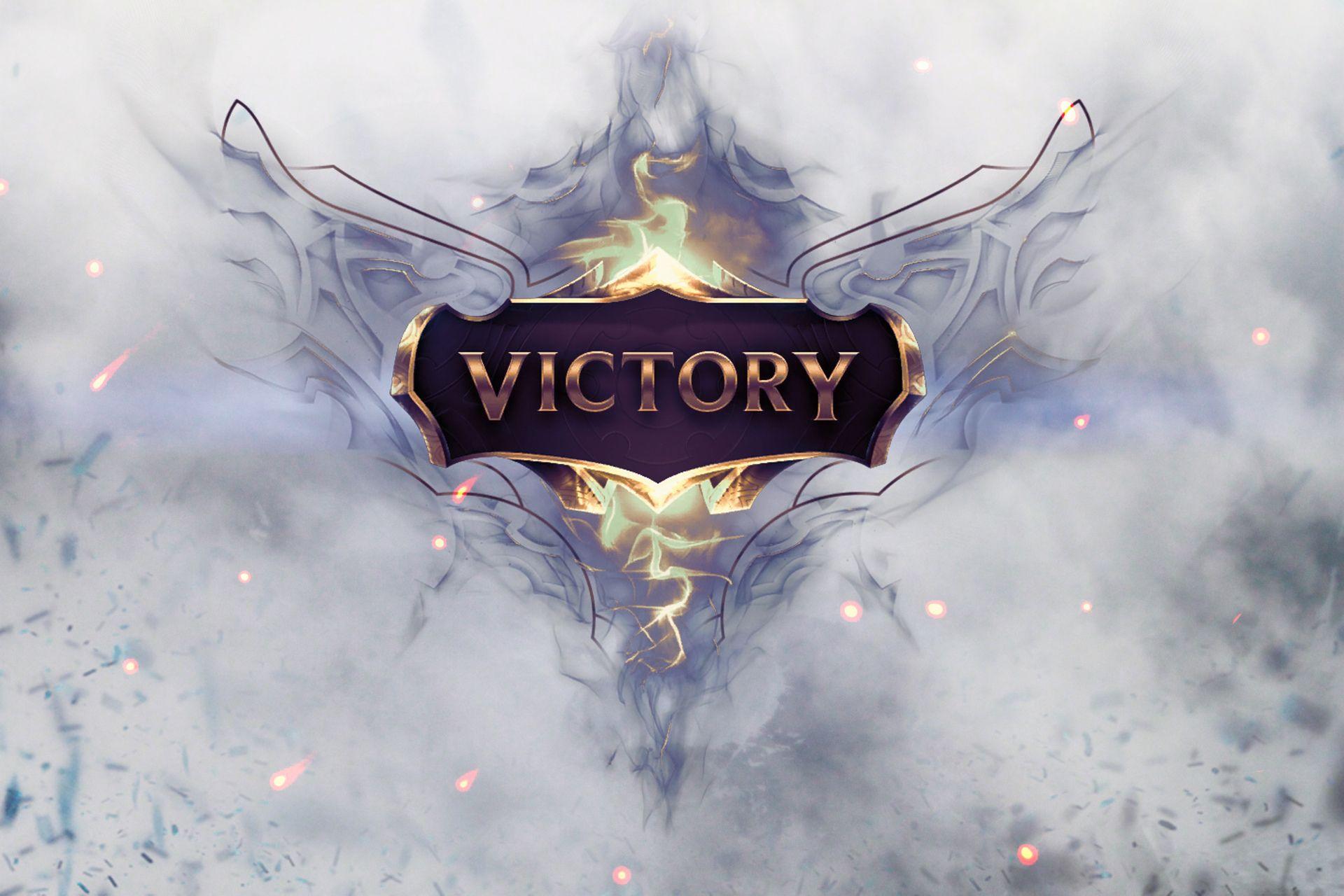 Vdeo Game League Of Legends Victory Photoshop Papel de Parede 1920x1280