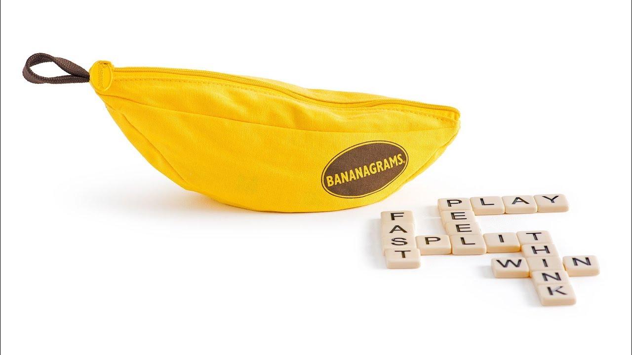 Custom BANANAGRAMS   A Perfect Gift Bananagrams 1280x720