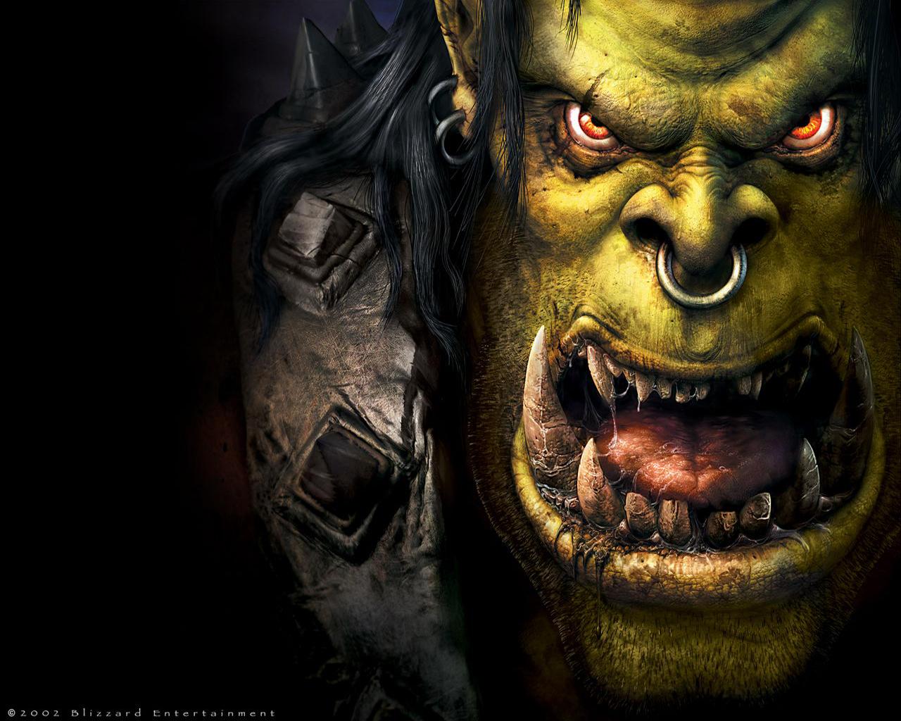 Orc Warrior Wallpaper Orc Warrior Desktop Background 1280x1024