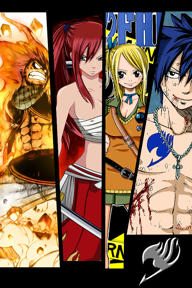 Fairy Tail Wallpaper for iPhone and iTouch by dotKustomize on 640x960
