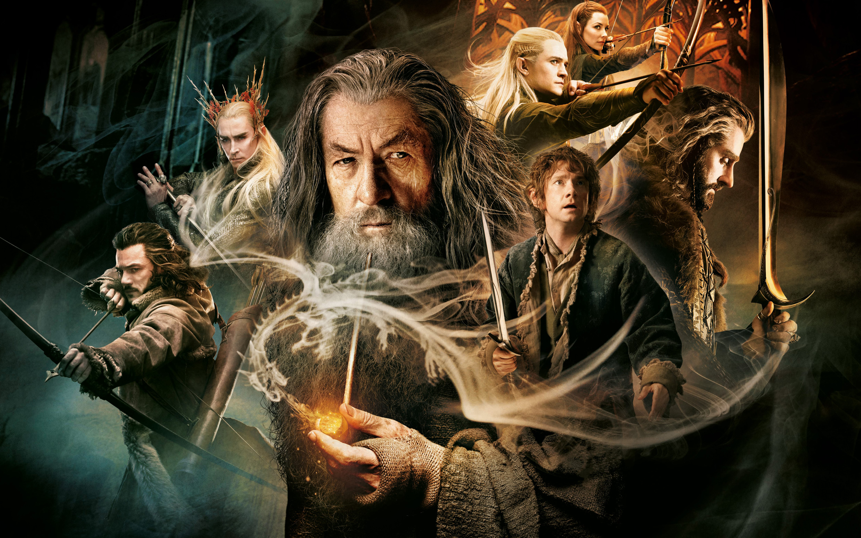 The Hobbit The Desolation of Smaug Wallpapers HD Wallpapers 2880x1800