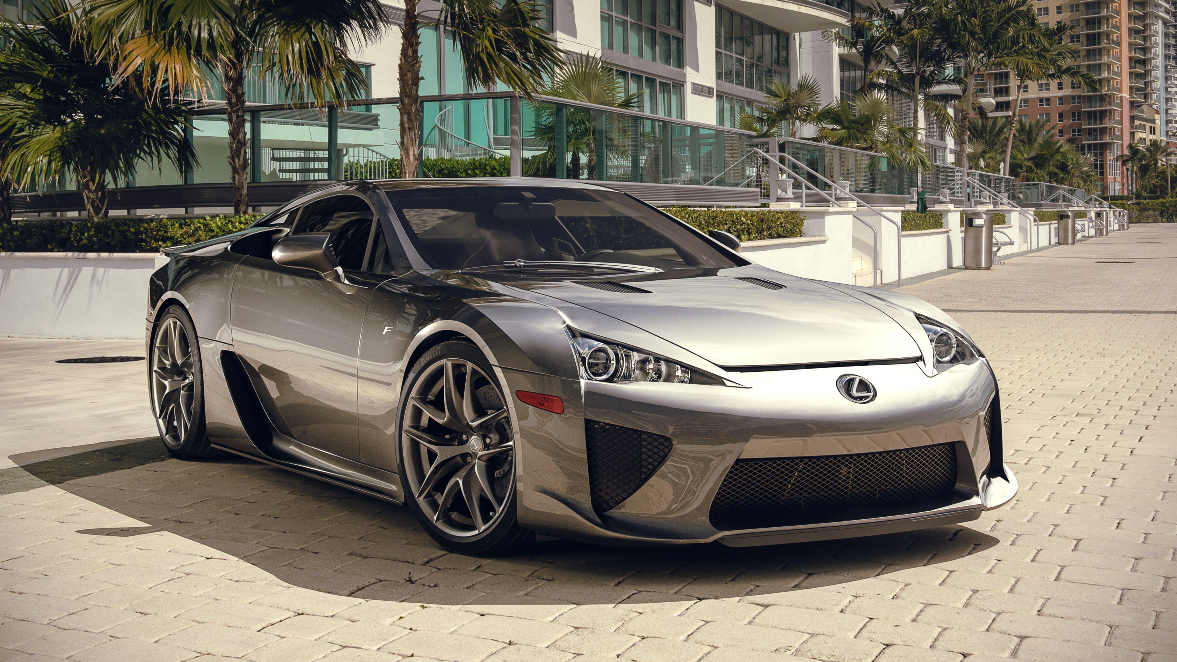 What a car Lexus LFA 3840x2160