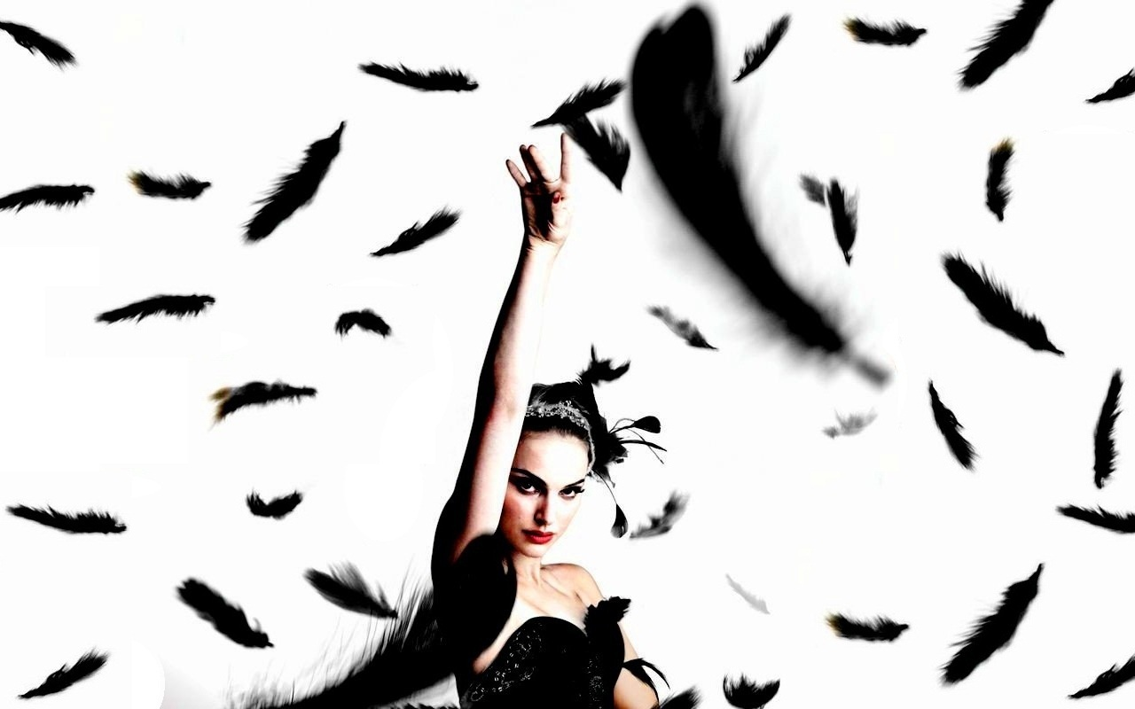 Black Swan Poster Wallpaper   Black Swan Wallpaper 19248402 1280x800