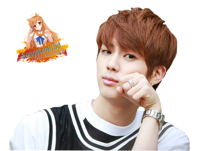 Kim Seokjin   BTS Jin Render by konoakemi133 665x510