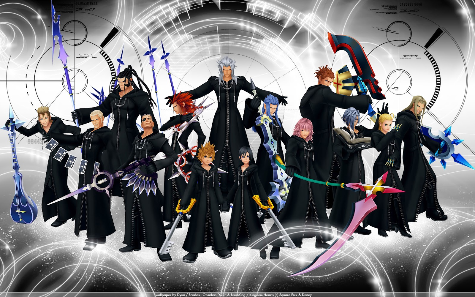 Wallpapers Kingdom Hearts 1600x1000
