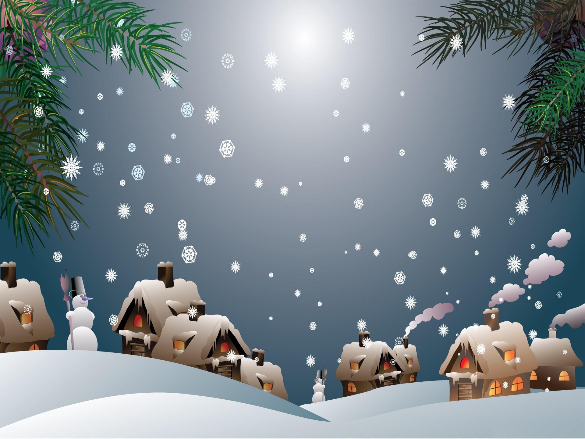Pics Photos   Peaceful Christmas Village Hd Wallpapers 1920x1440