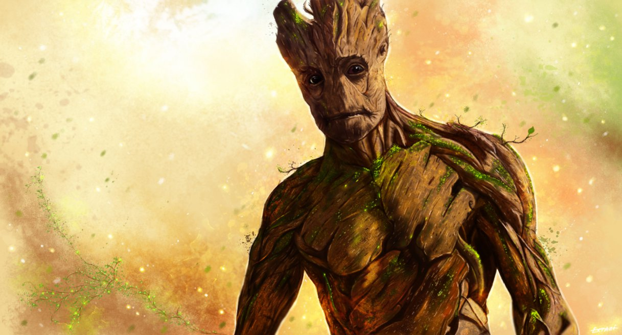 Marvels Guardians Of The GalaxyL to R Groot voiced by Vin 1217x656