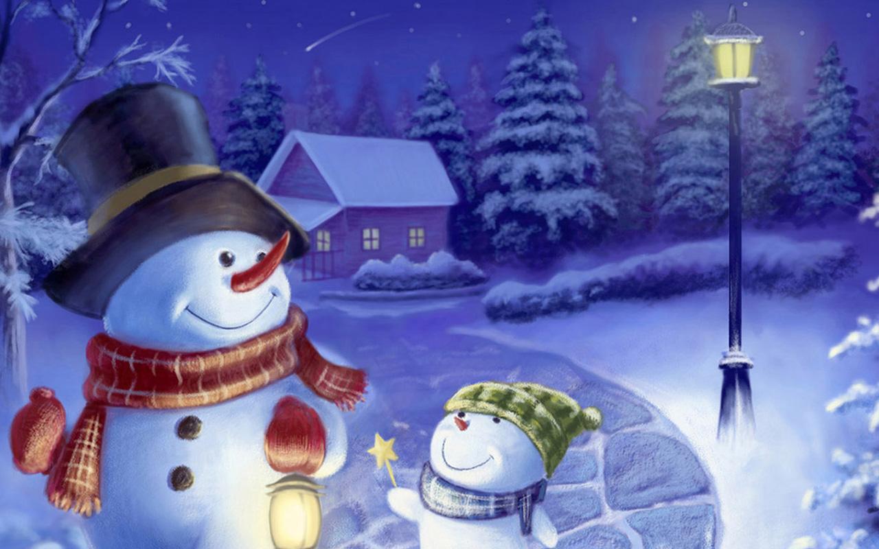 cute snowman wallpaper wallpapersafari
