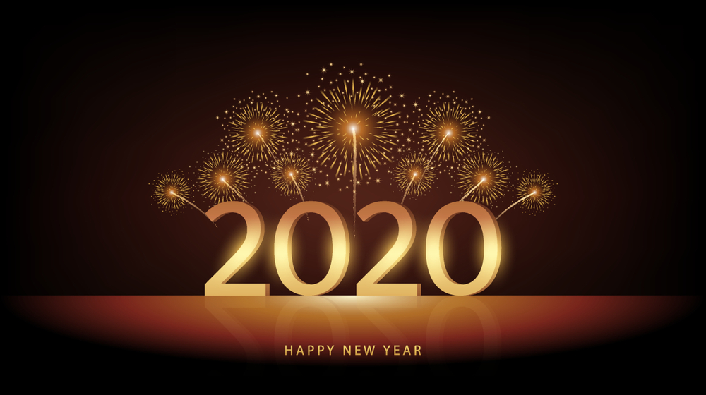 Happy New Year QuotesWishes Images 2020 1000x560