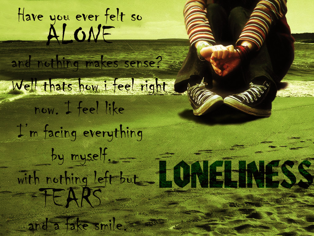 Lonely Wallpapers With Quotes Wallpapersafari
