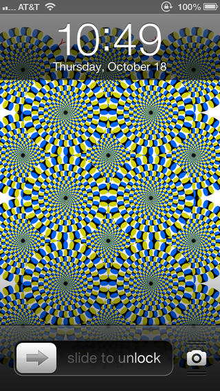 Optical Illusion Wallpapers For IPhone 5 On The App Store ITunes 320x568