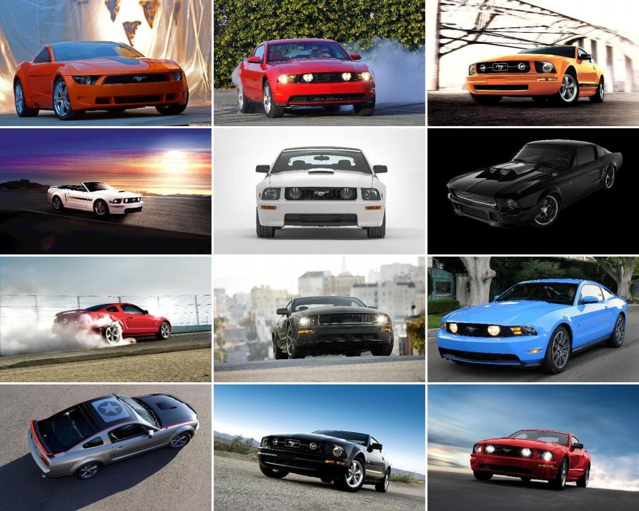 Mustang GT Desktop Wallpaper and Screensavers Downloads 1280x1024