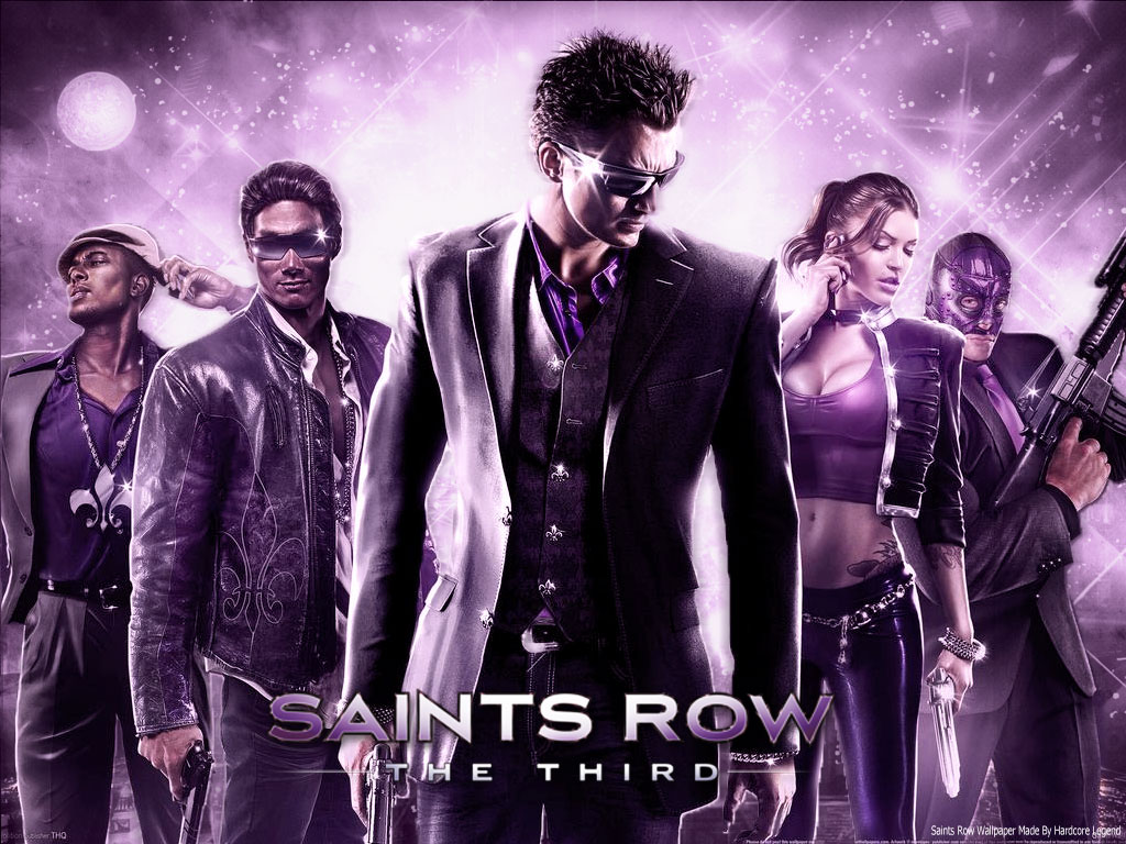 Free Download Saints Row The Third Wallpaper By Arkadyevgfx On