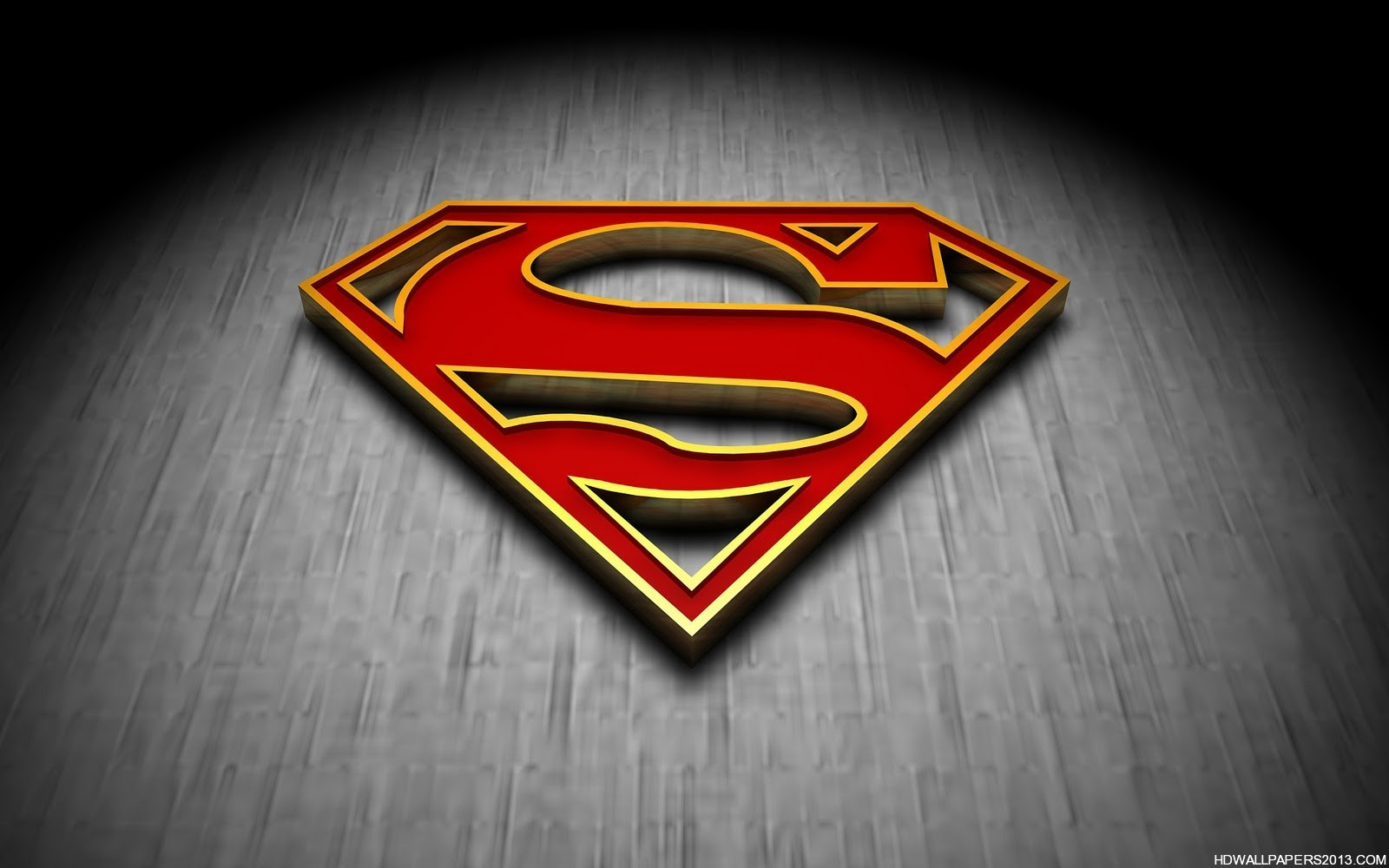 Logo Superman HD HD Wallpapers Logo Superman HD HD Backgrounds 1600x1000