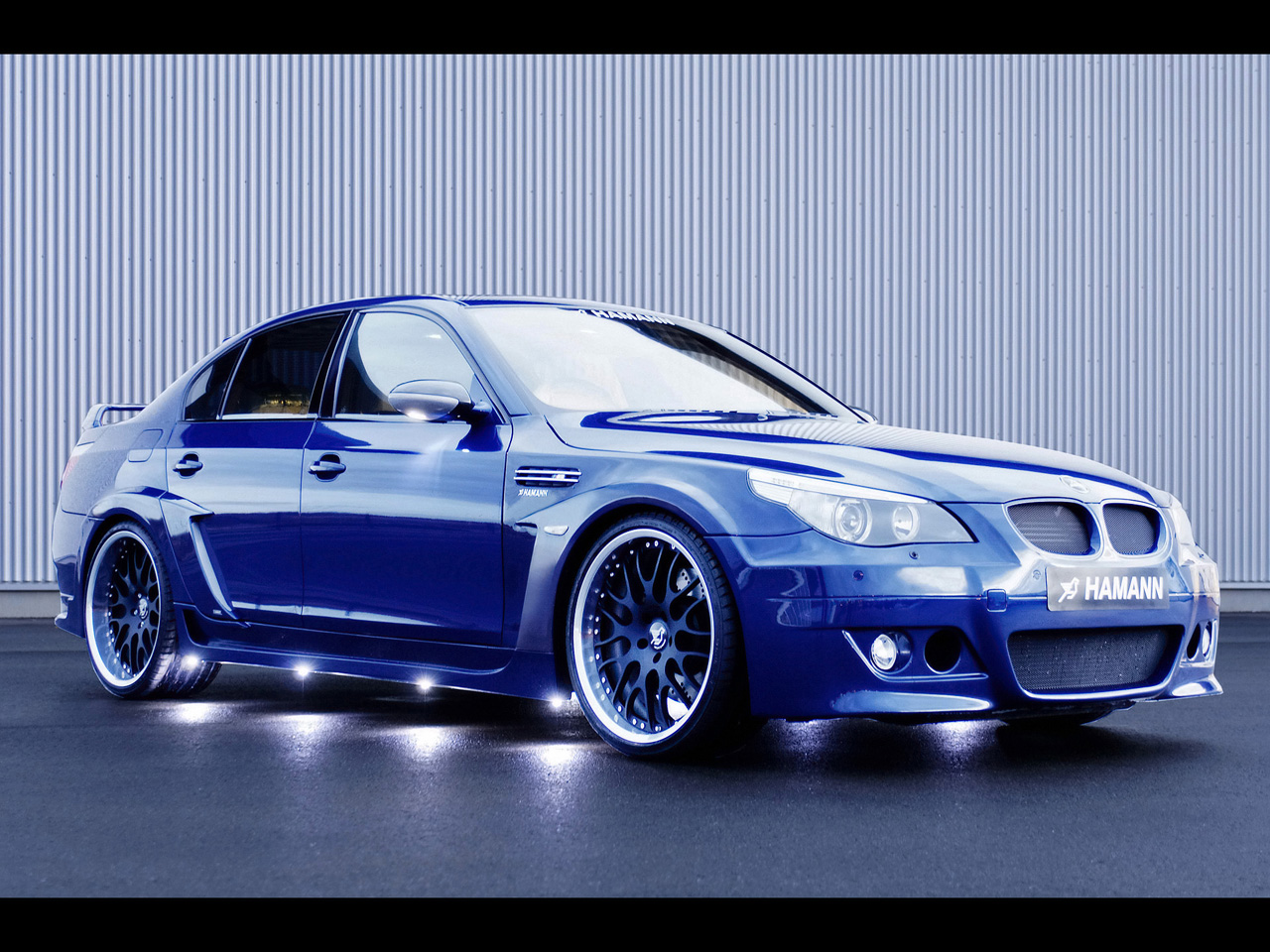 2006 Hamann BMW M5 Edition Race Blue Front Right 1280x960 Wallpaper 1280x960