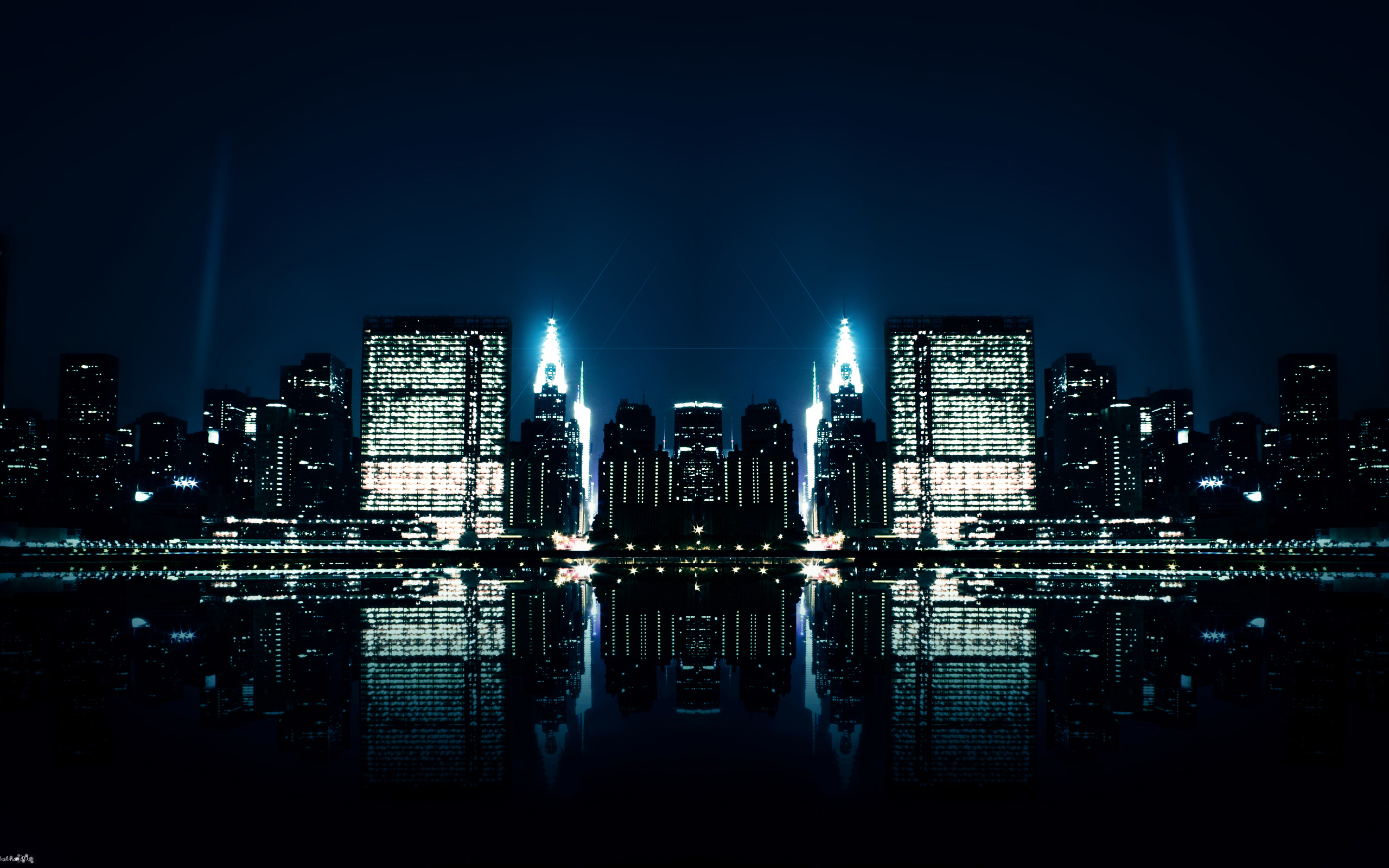 Hd wallpaper night - City Night Reflections Wallpapers Hd Wallpapers