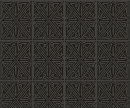 Lovely deep dark black art nouveau pattern wallpaper You cant see 520x431