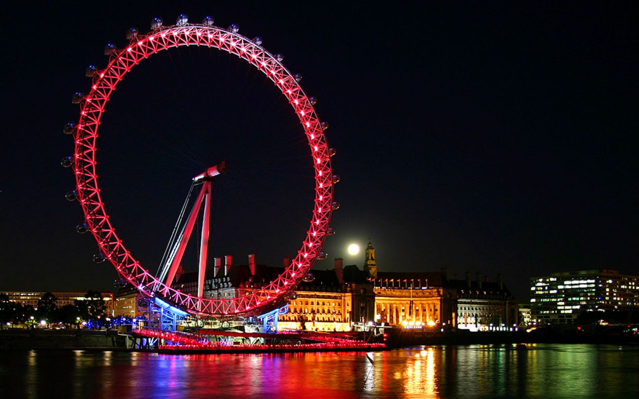 London Eye HD Wallpapers 1280x800