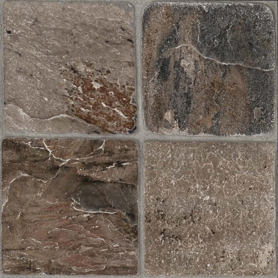12 in Tumbled Stone Peel And Stick Ceramic Vinyl Tile at Lowescom 900x900