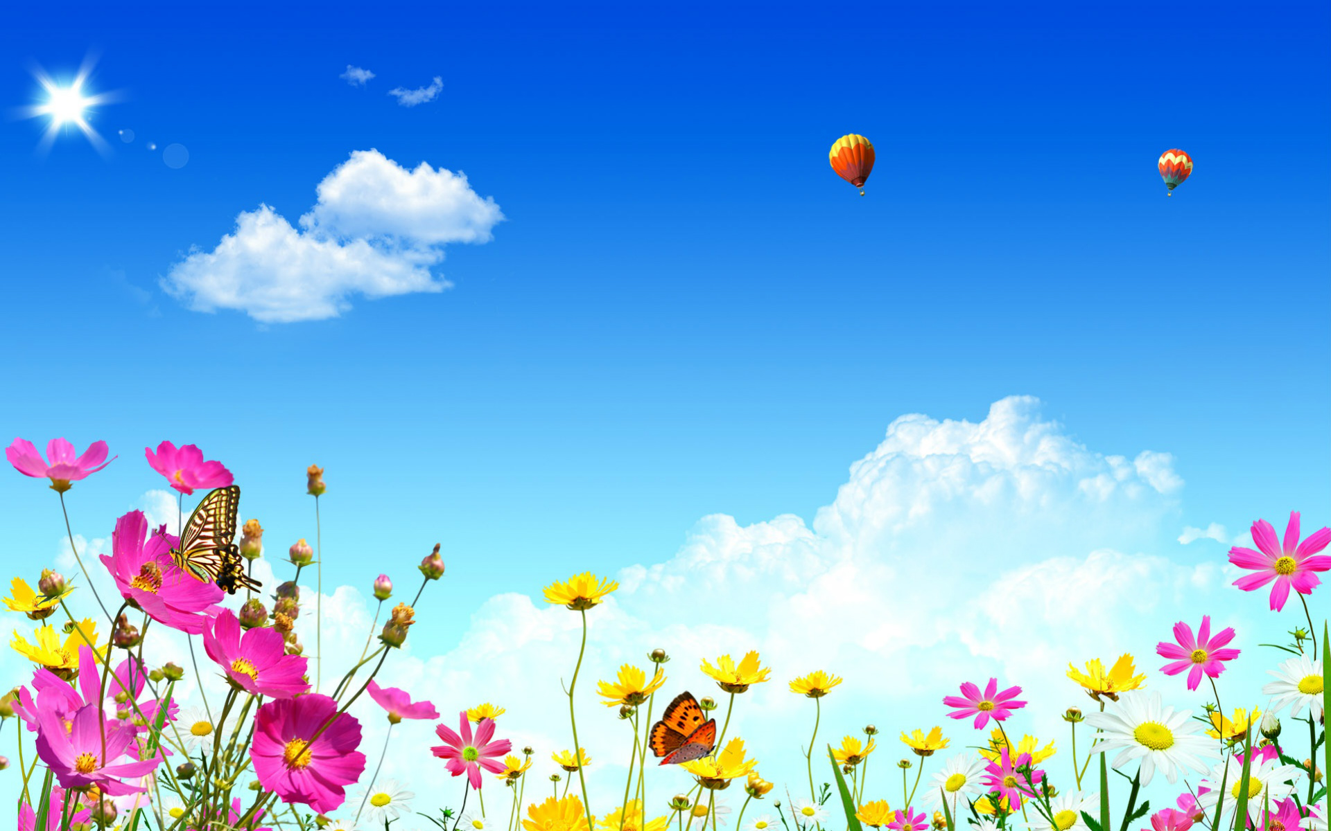 Spring free desktop wallpaper background wallpapersafari - Free computer backgrounds for spring ...