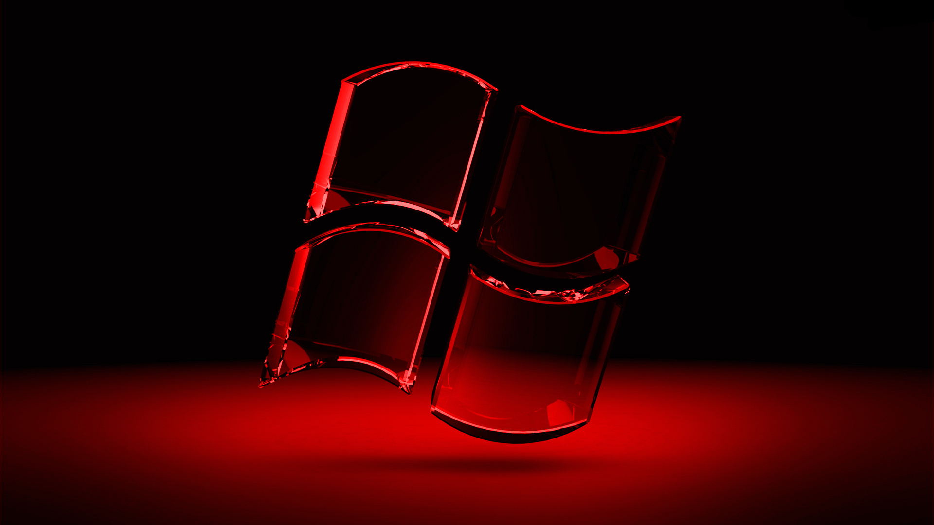 windows red wallpaper vista - photo #18