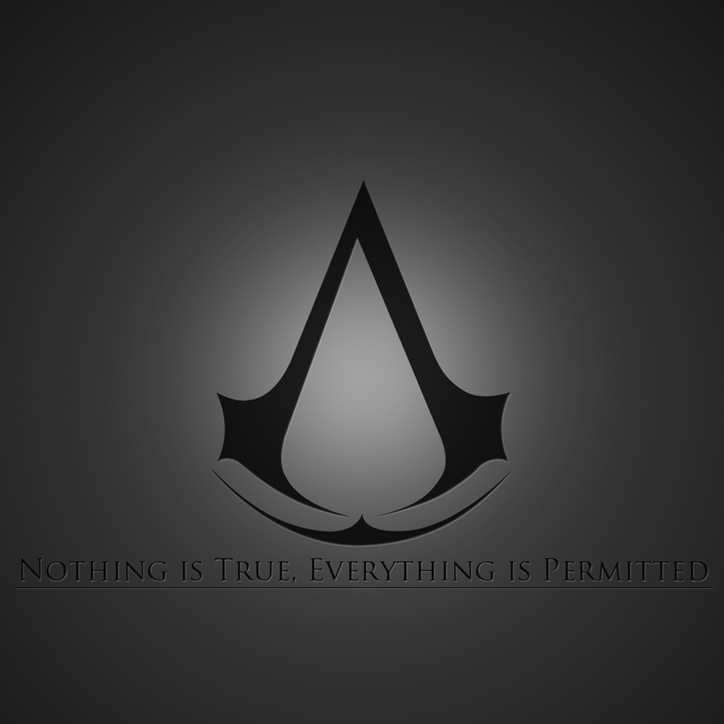 Creed Brotherhood Logo iPad Wallpaper iPad Retina HD Wallpapers 1024x1024
