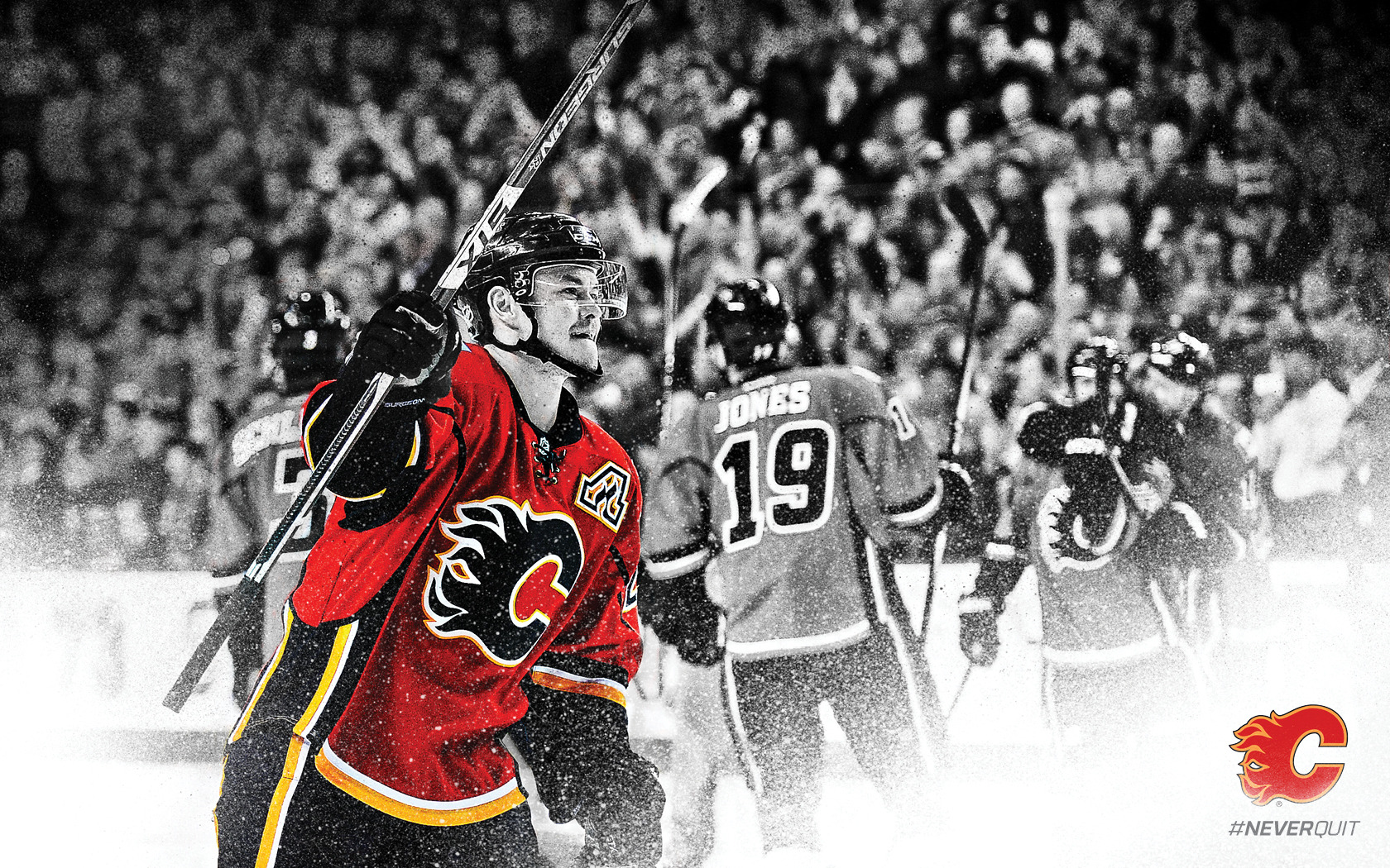 Calgary Flames Wallpaper   Calgary Flames   Multimedia 1680x1050