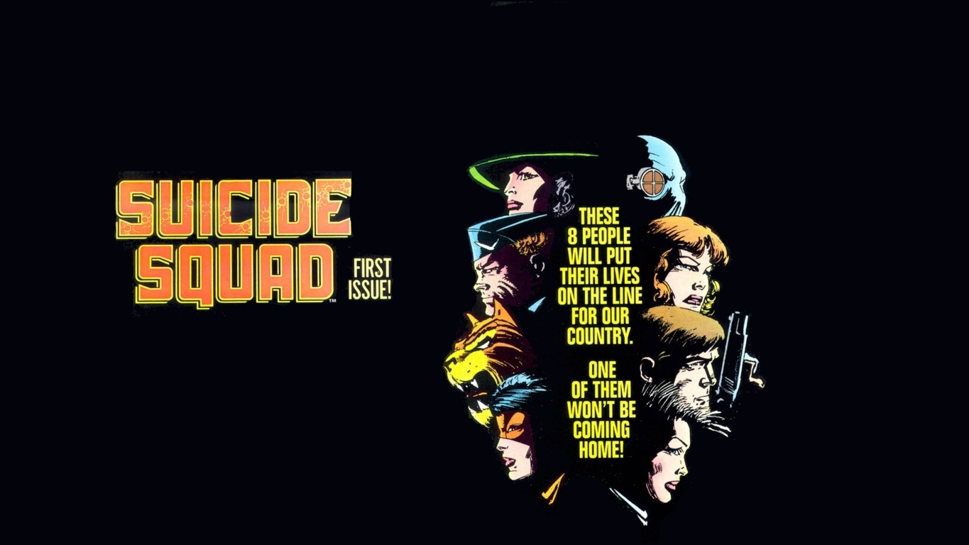 Wallpaper Suicide Squad First Issue Hd Wallpaper Upload at December 1365x768