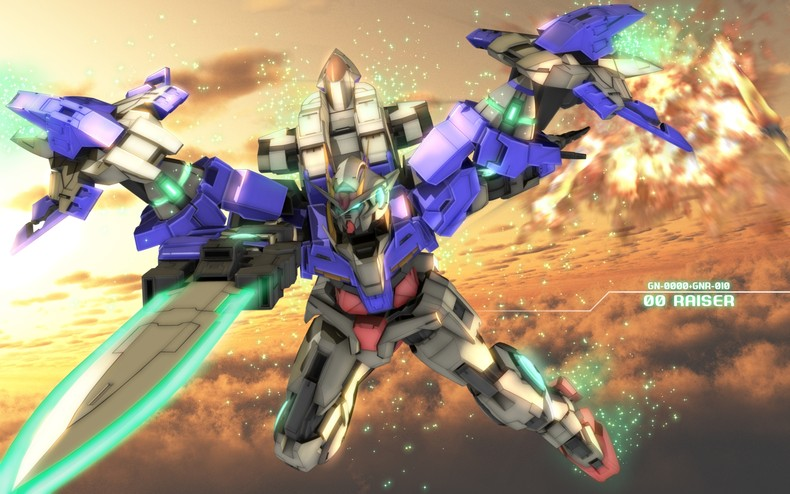 Home Gallery Mobile Suit Gundam 00 Wallpapers 00 RAISER 790x494