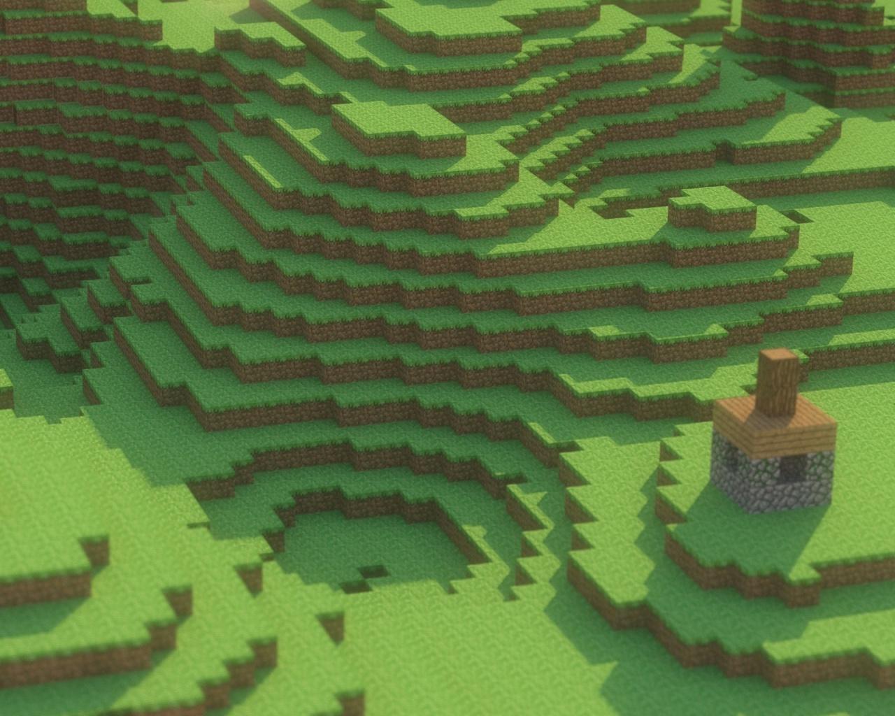 1280x1024 Minecraft desktop PC and Mac wallpaper 1280x1024