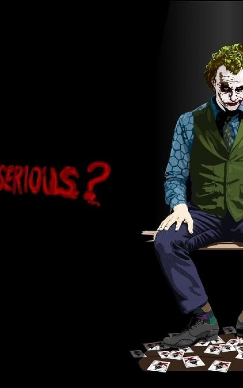 The Joker Wallpaper 17278 800x1280